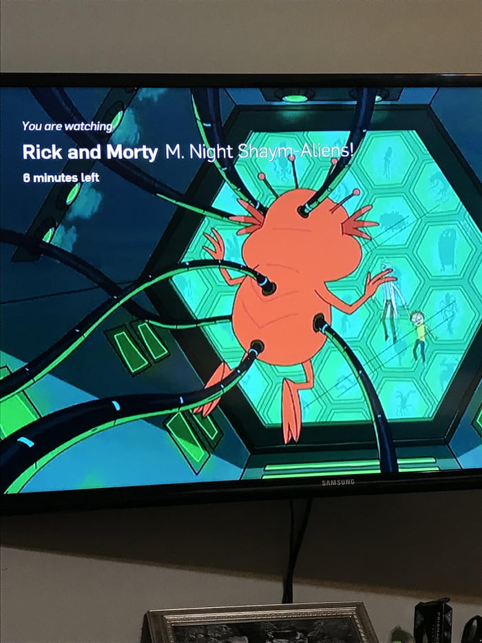 In Season 1 Episode 4 Of Rick And Morty A Plutonian Can Be Seen In