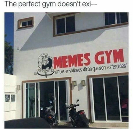 In case you guys haven't seen your dream gym yet