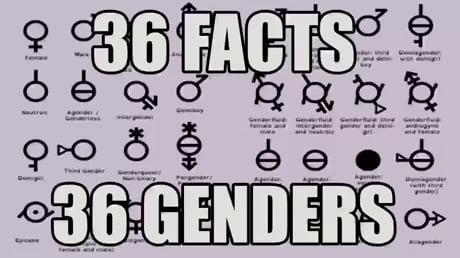 36 facts 36 genders - 9GAG