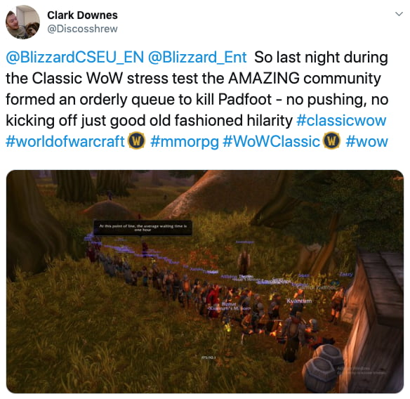 World of Warcraft Classic Players Are Queuing Hours For