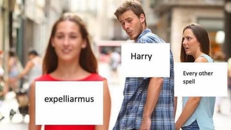 Expelliarmus! - not mine-