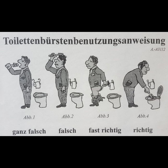 Useful Guide Found In A Restroom In Germany 9gag