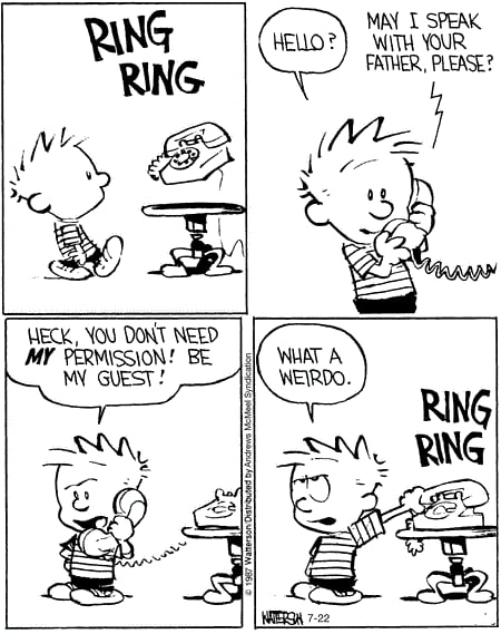 Calvin and Hobbes!! I post daily, have a good one you guys :)