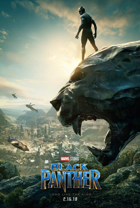New 'Black Panther' Poster from SDCC