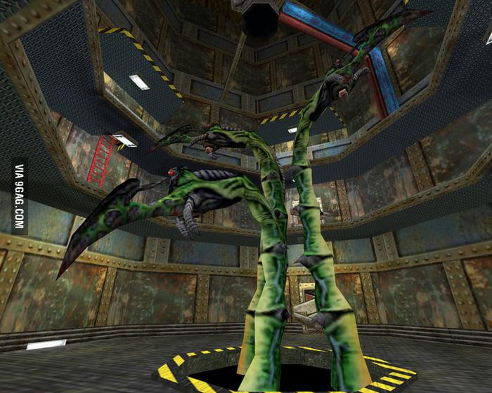 Scariest boss in Half Life 1  Impulse101, godmode, noclip
