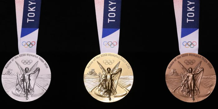 Tokyo Olympics Medals Are Made From 80,000 Tons Of Recycled