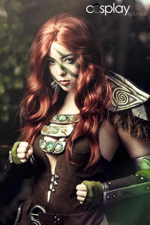 Cossplay aela the huntress porn