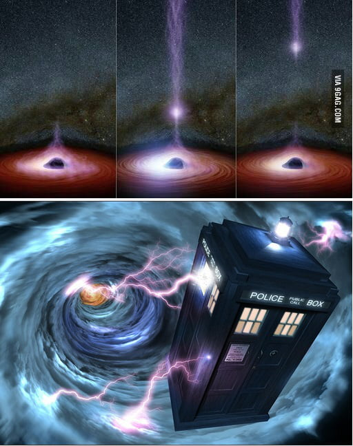 The only plausible explanation why something visible could ...
