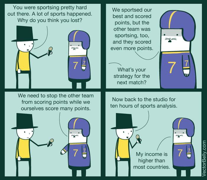What every single sports interview sounds like to me