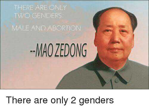 the results are out there are only 2 genders 9gag