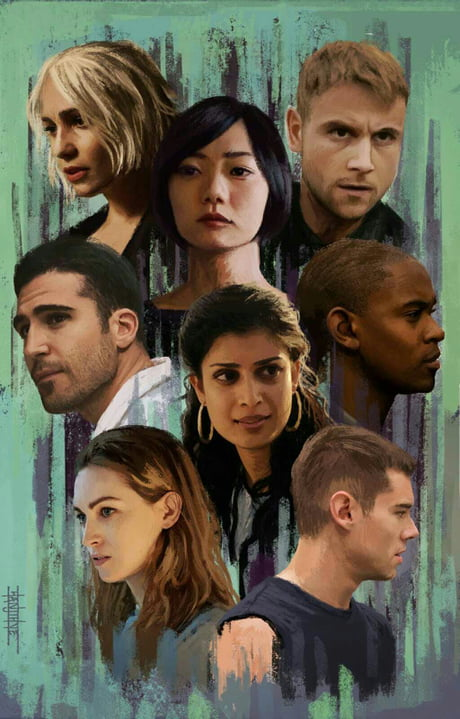 Sense8   one of the best netflix series i've ever saw