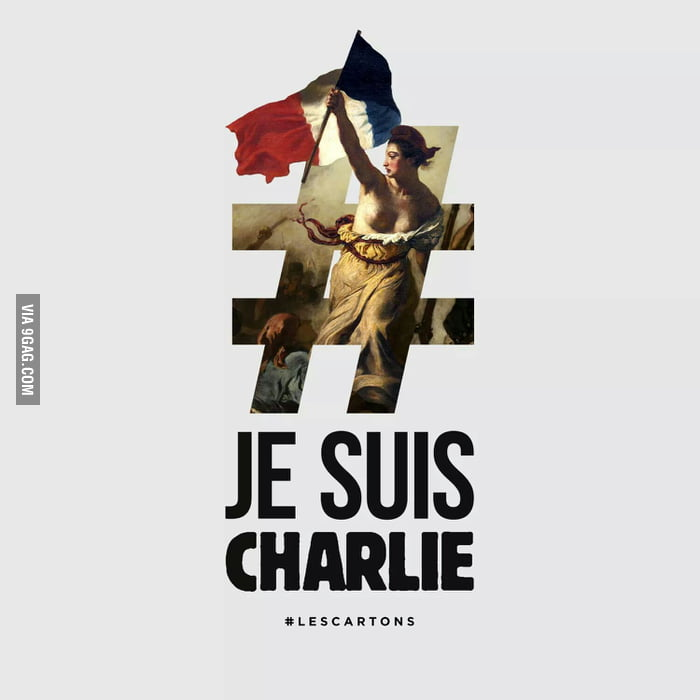 Sad day in France today, but what don't kill us, make us stronger. #JeSuisCharlie