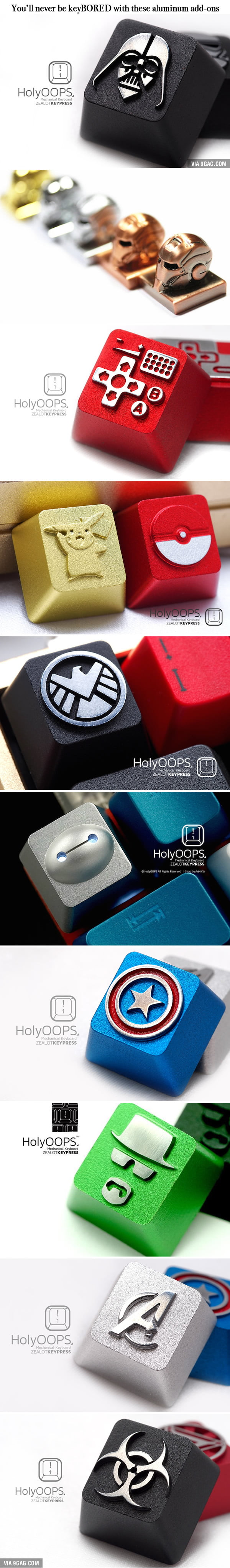 The Nerdy Keyboard Keys Of Your Dreams Are Here
