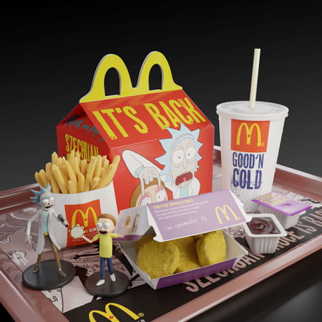 Rick and Morty Happy Meal
