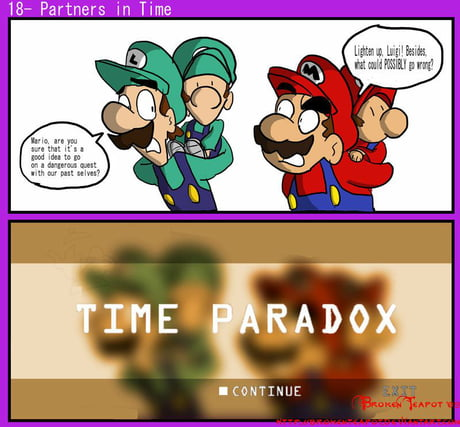 If Mario And Luigi Partners In Time Was Realistic 9gag