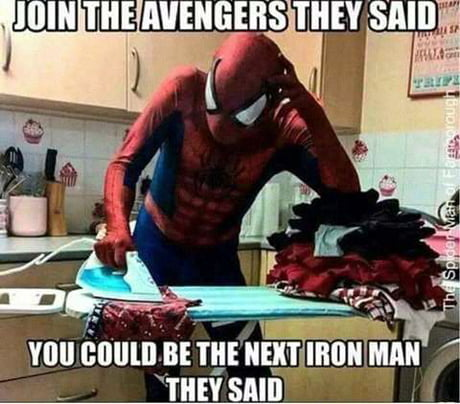Careful what you wish for Spidey