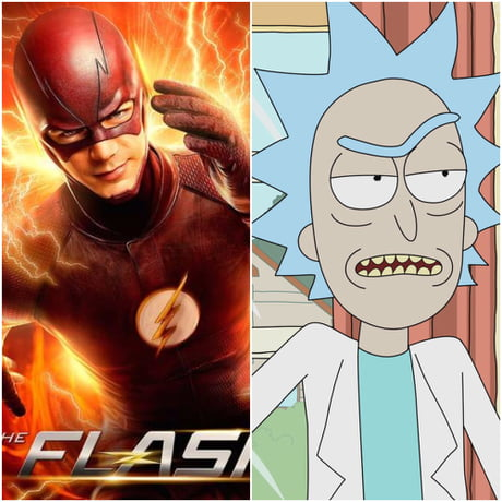 Can anyone draw Rick Sanchez in a flash suit please? I will say thanks as a reward :)