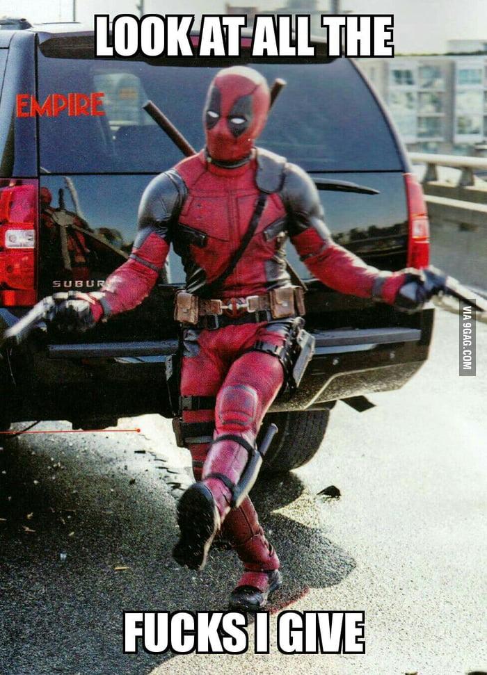 New Deadpool meme is born - 9GAG