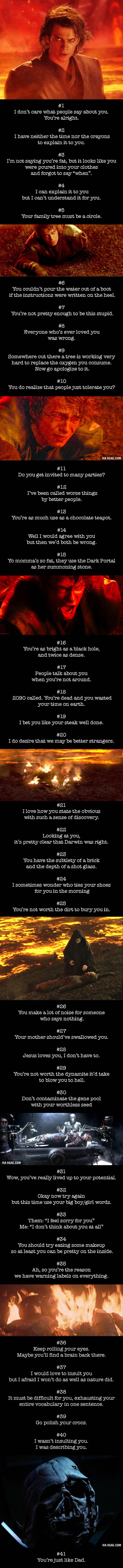 41 Curse-Free Comebacks That Burn Like Fire - 9GAG