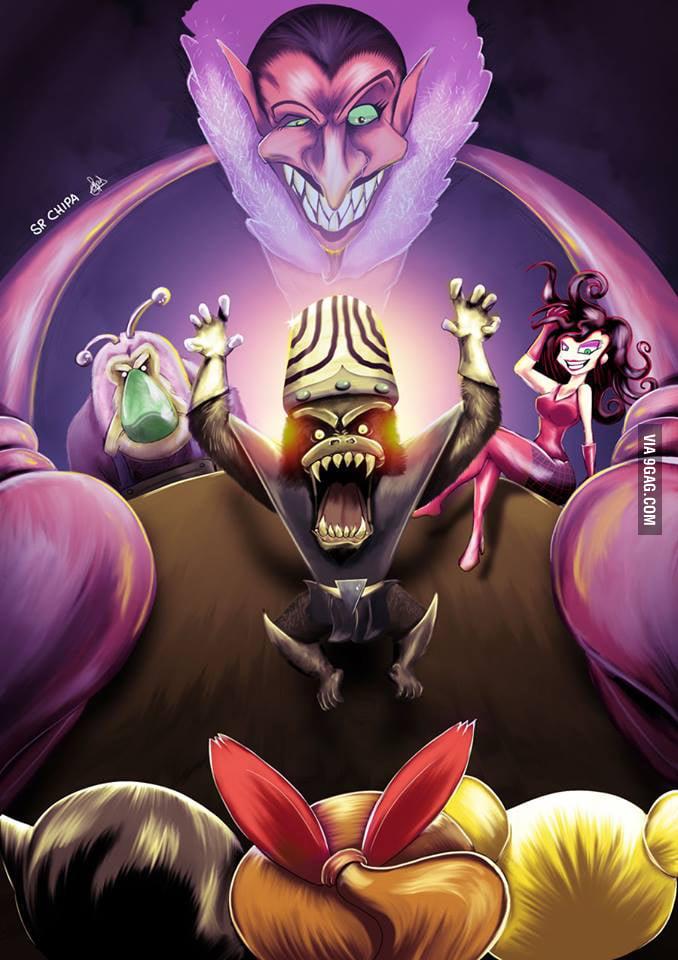 Powerpuff Girls Villains