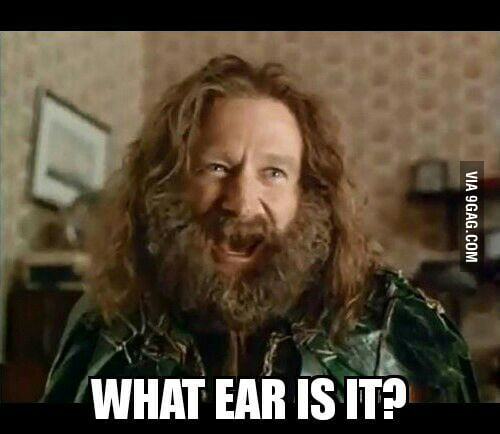 When Im Getting My Ear Pierced And Dont Know Which Is The Gay Ear 9gag