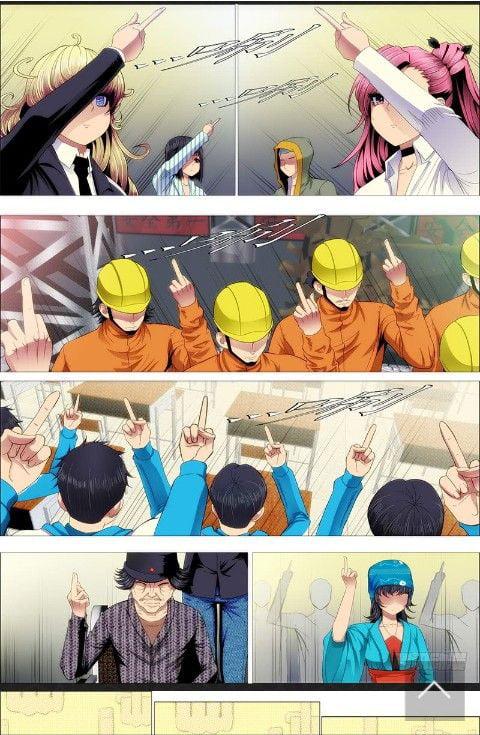 Iron ladies manga rock