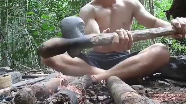 He is not jungle survivor but he is building civilization.