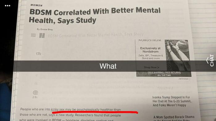 Bdsm mental health more detail