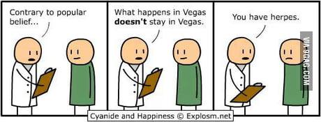 What Happens In Vegas Stays In Vegas 9gag