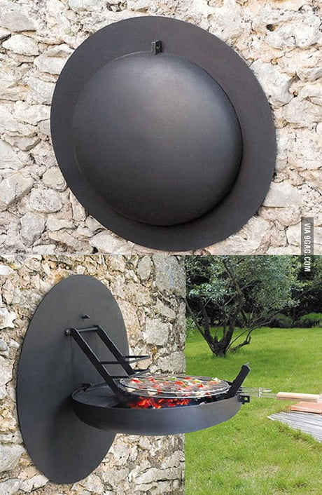 Wall Mounted Bbq Grill