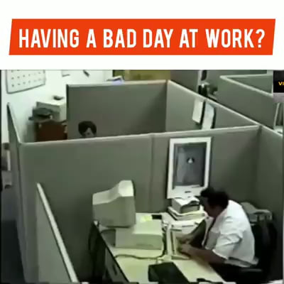 Office jobs can be rough