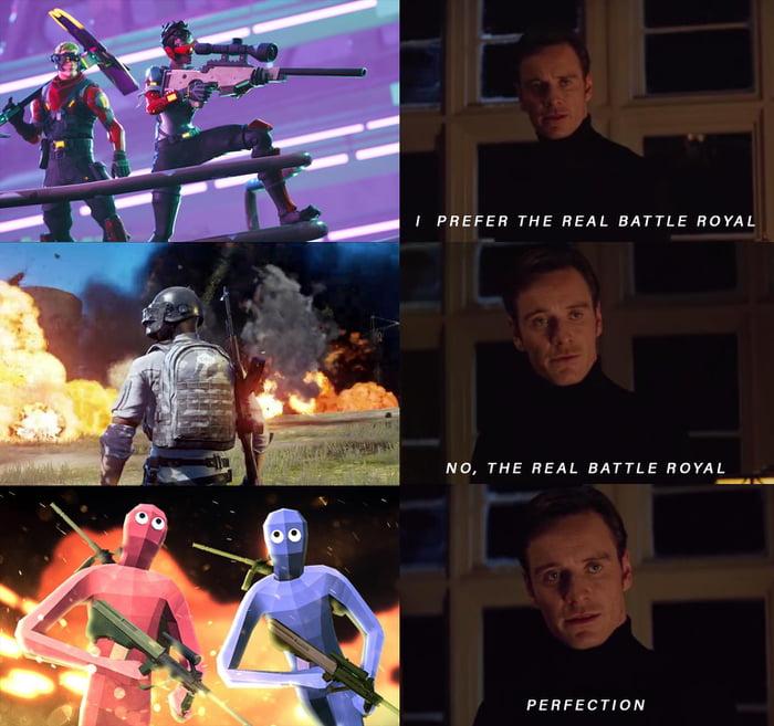 i prefer the real battle royal game 9gag