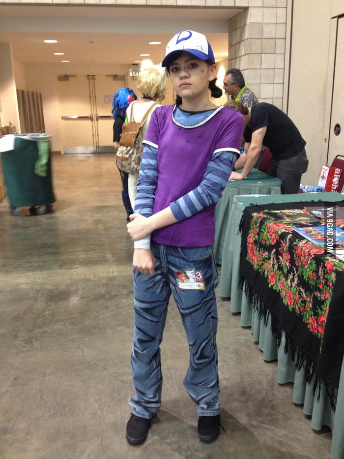 Clementine From The Walking Dead Season 2 Cosplay 9gag