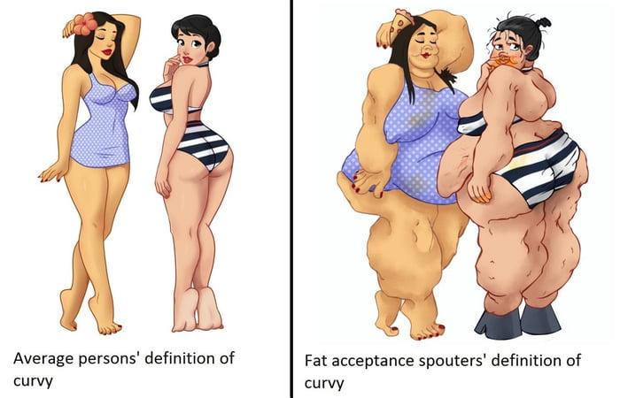 Definition of curvy