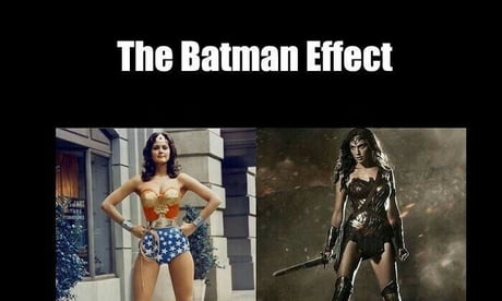 Batman fixes everything. Except BvS nothing can fix that...