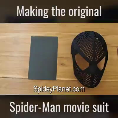 Making the original Spiderman movie suit
