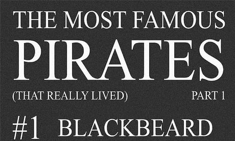 The Most Famous Pirates - Part 1