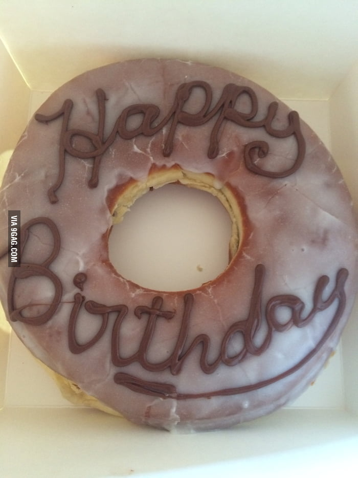 Birthday Gift For The Crush Its A Nutella Donut Cake