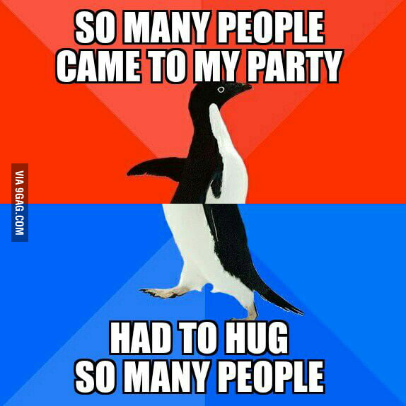 Had A Going Away Party At Work 9gag