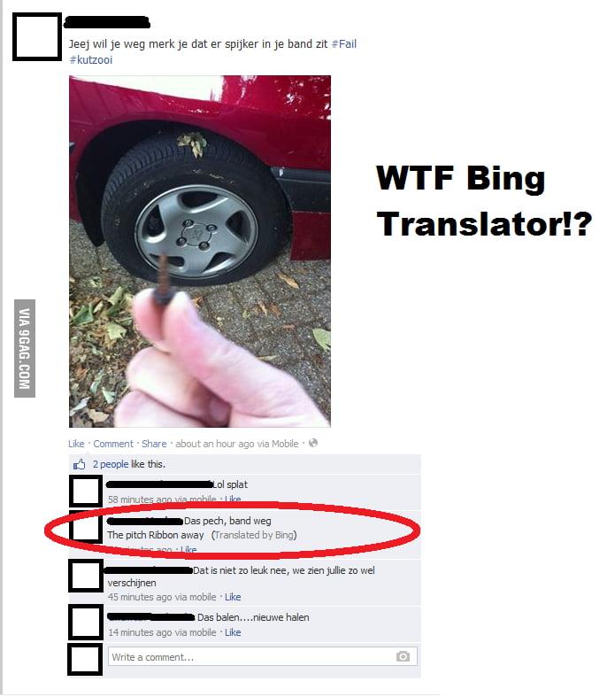 WTF Bing Translator!? - 9GAG