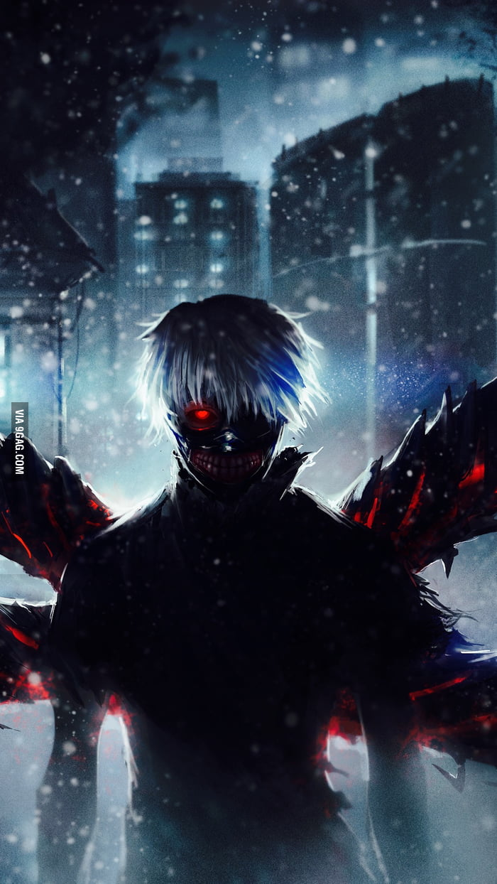 Ken Kaneki Iphone Wallpaper