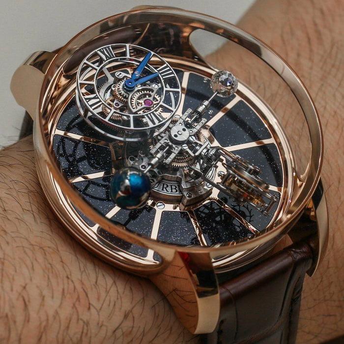 e2af89b44 Jacob   Co. Astronomia Tourbillon Baguette Watch ( 1