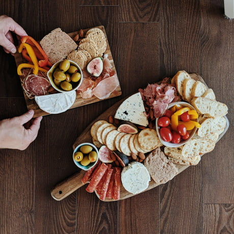 Homemade Charcuterie & Cheese