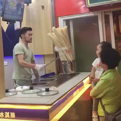 Give me my damn ice cream