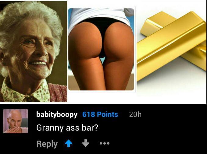 Granny Gag 34