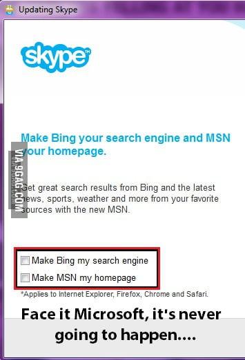 how to make bing my homepage