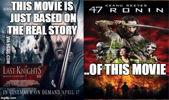 If anyone of you knows the real story of the 47 Ronin (without the