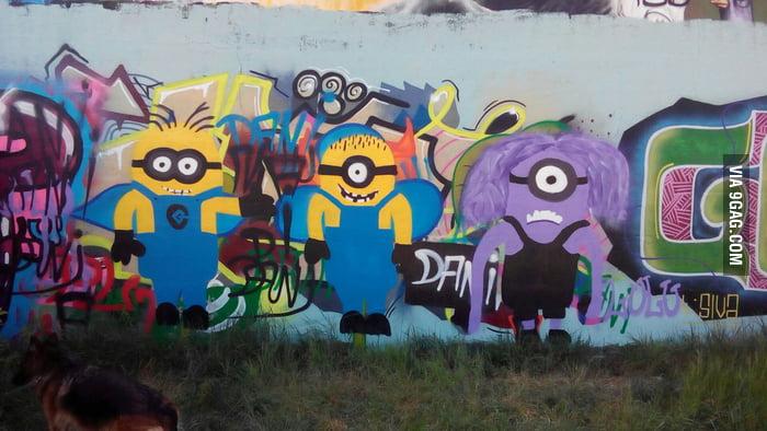Grafiti Minions Hobbyless Kids Are Awesome