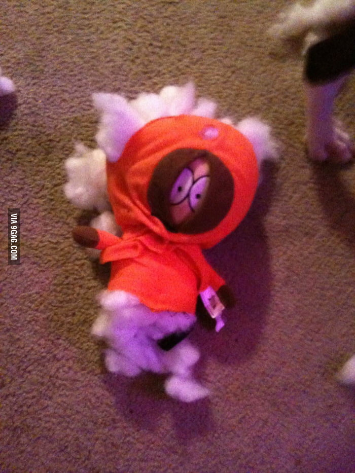 I had all the South Park kids, but the dog chose this one