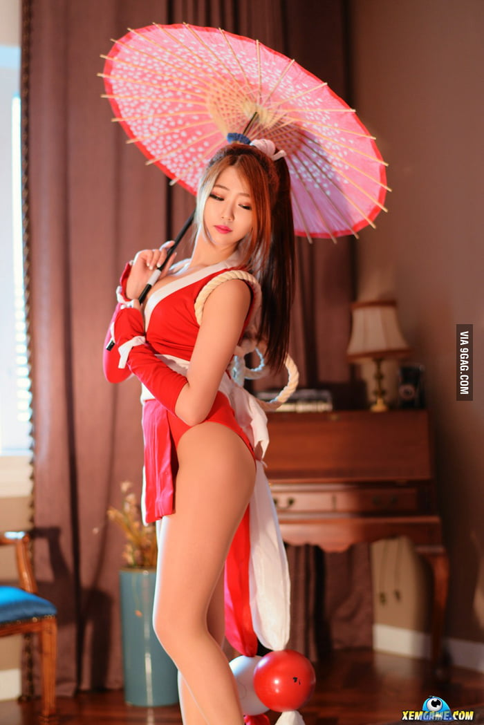 Cosplay mai shiranui